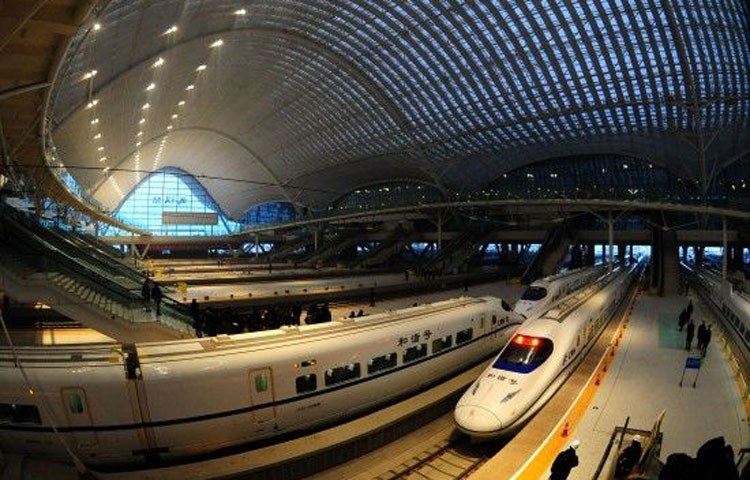 武广高铁英德火车站