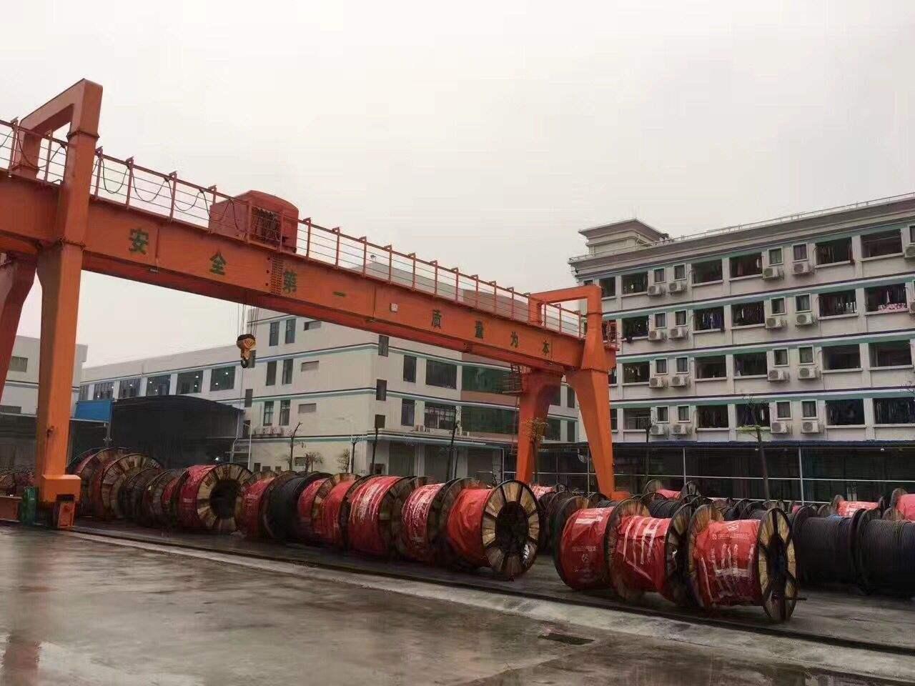 珠江电缆厂,工艺先进生产技术精良